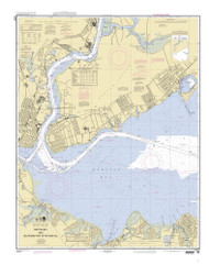 Raritan Bay and Southern Part of Arthur Kill 2010 - Old Map Nautical Chart AC Harbors 12331 - New Jersey