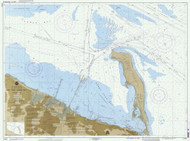 New York Lower Bay Southern Part 1995 - Old Map Nautical Chart AC Harbors 12401 - New Jersey