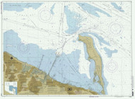 New York Lower Bay Southern Part 2000 - Old Map Nautical Chart AC Harbors 12401 - New Jersey