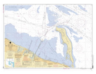New York Lower Bay Southern Part 2005 - Old Map Nautical Chart AC Harbors 12401 - New Jersey