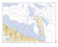 New York Lower Bay Southern Part 2011 - Old Map Nautical Chart AC Harbors 12401 - New Jersey