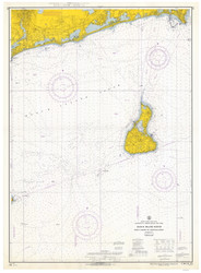 Point Judith to Montauk Point 1966 - Old Map Nautical Chart AC Harbors 271 - Rhode Island