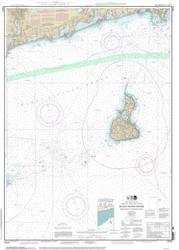 Point Judith to Montauk Point 2013 - Old Map Nautical Chart AC Harbors 13215 - Rhode Island