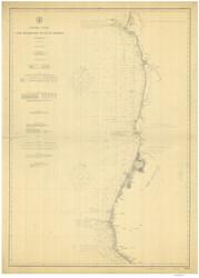 Cape Mendocino to Pt. St. George 1904 Nautical Map Reprint 5800 California - Big Area 1890s