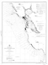 Point Pinos to Bodega Head 1888a Nautical Map Reprint 5500 California - Big Area 1890s