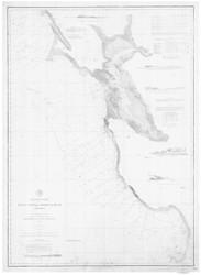 Point Pinos to Bodega Head 1888b Nautical Map Reprint 5500 California - Big Area 1890s