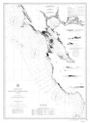 Point Pinos to Bodega Head 1889a Nautical Map Reprint 5500 California - Big Area 1890s
