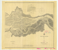 Columbia River Sheet 2 1879 B - Old Map Nautical Chart PC Harbors 641 - Oregon