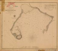 Bellingham Bay 1856 - Old Map Nautical Chart PC Harbors 656 - Oregon
