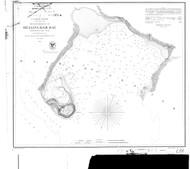 Bellingham Bay 1856 BW - Old Map Nautical Chart PC Harbors 656 - Oregon