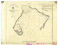 Bellingham Bay 1879 - Old Map Nautical Chart PC Harbors 656 - Oregon