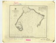 Bellingham Bay 1889 B - Old Map Nautical Chart PC Harbors 656 - Oregon