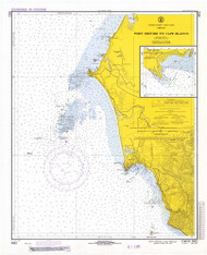 Port Oxford to Cape Blanco 1971 - Old Map Nautical Chart PC Harbors 5952 - Oregon
