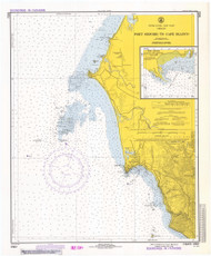 Port Oxford to Cape Blanco 1974 - Old Map Nautical Chart PC Harbors 5952 - Oregon
