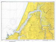 Coos Bay 1974 - Old Map Nautical Chart PC Harbors 5984 - Oregon