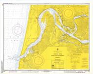 Umpqua River 1972 - Old Map Nautical Chart PC Harbors 6004 - Oregon