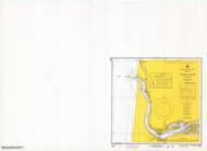 Siuslaw River 1969 - Old Map Nautical Chart PC Harbors 6023 - Oregon