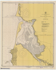 Tillamook Bay 1948 - Old Map Nautical Chart PC Harbors 6112 - Oregon