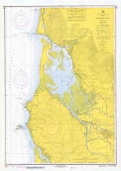 Tillamook Bay 1969 - Old Map Nautical Chart PC Harbors 6112 - Oregon