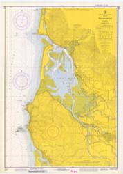 Tillamook Bay 1973 - Old Map Nautical Chart PC Harbors 6112 - Oregon