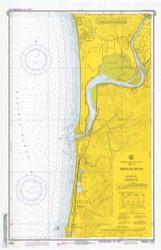 Nehalem River 1973 - Old Map Nautical Chart PC Harbors 6122 - Oregon