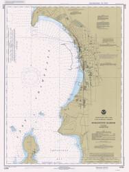 Burlington Harbor - 1981 Nautical Chart
