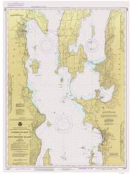 Lake Champlain, Sheet 2 - 1983 Nautical Chart