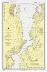Lake Champlain, Sheet 3 - 1987 Nautical Chart