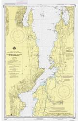 Lake Champlain, Sheet 3 - 1987 Nautical Chart