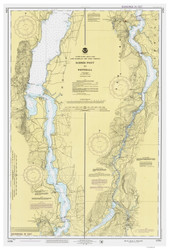 Lake Champlain, Sheet 4 - 1988 Nautical Chart