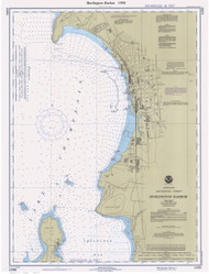 Burlington Harbor - 1990 Nautical Chart