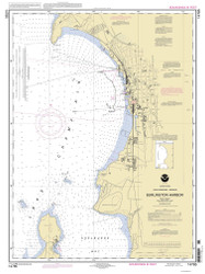 Burlington Harbor - 2004 Nautical Chart