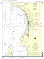 Burlington Harbor - 2013 Nautical Chart
