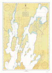 Lake Champlain, Sheet 1 - 1947 Nautical Chart