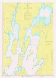 Lake Champlain, Sheet 1 - 1974 Nautical Chart