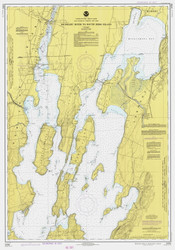 Lake Champlain, Sheet 1 - 1977 Nautical Chart