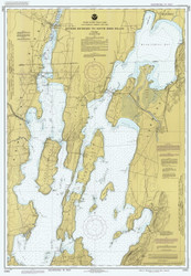 Lake Champlain, Sheet 1 - 1985 Nautical Chart