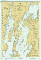 Lake Champlain, Sheet 1 - 1989 Nautical Chart