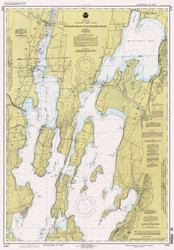 Lake Champlain, Sheet 1 - 1994 Nautical Chart