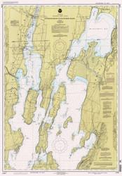 Lake Champlain, Sheet 1 - 1994 Nautical Chart