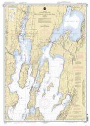 Lake Champlain, Sheet 1 - 2004 Nautical Chart