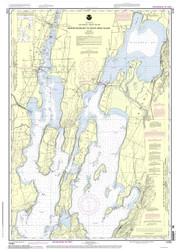 Lake Champlain, Sheet 1 - 2013 Nautical Chart