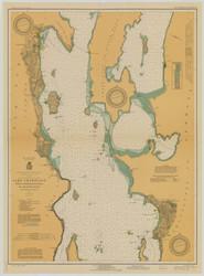 Lake Champlain, Sheet 2 - 1929 Nautical Chart