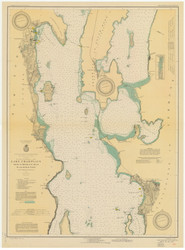 Lake Champlain, Sheet 2 - 1931 Nautical Chart