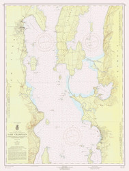 Lake Champlain, Sheet 2 - 1959 Nautical Chart