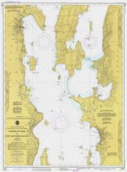 Lake Champlain, Sheet 2 - 1977 Nautical Chart