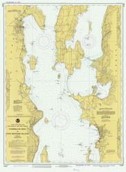 Lake Champlain, Sheet 2 - 1980 Nautical Chart