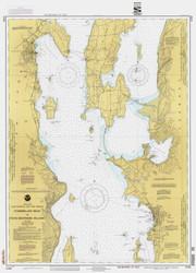 Lake Champlain, Sheet 2 - 1992 Nautical Chart