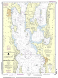 Lake Champlain, Sheet 2 - 2013 Nautical Chart