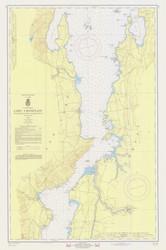 Lake Champlain, Sheet 3 - 1968 Nautical Chart